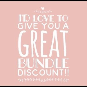 Other - Bundle items for a discount
